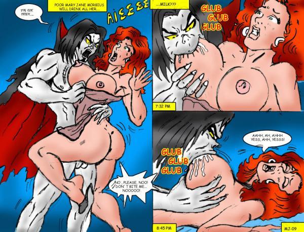 Mary Jane XXX (Spider-Man)- Wolverino