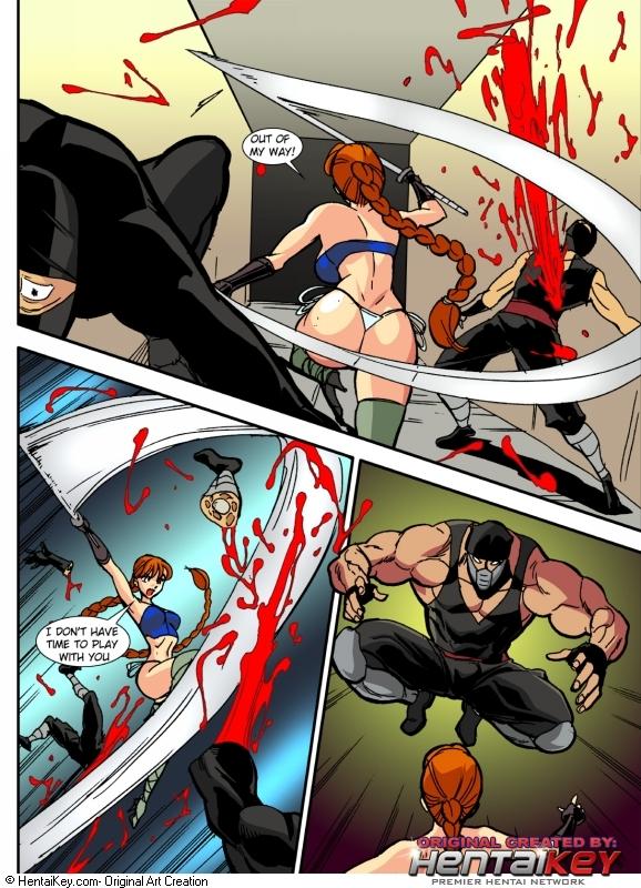 Hells Ninja 8 and 9- Hentai Key