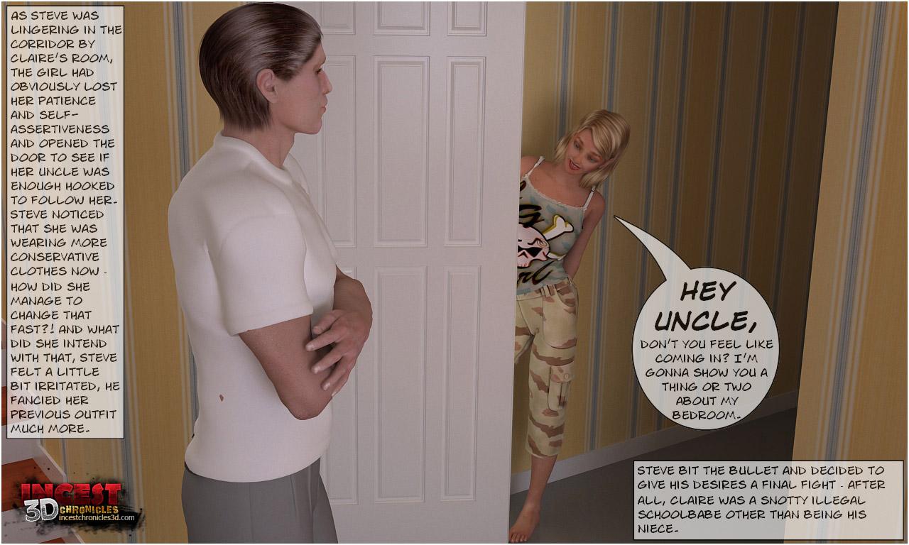 Uncle Arriving Part 2- Incest3DChronicles - part 2