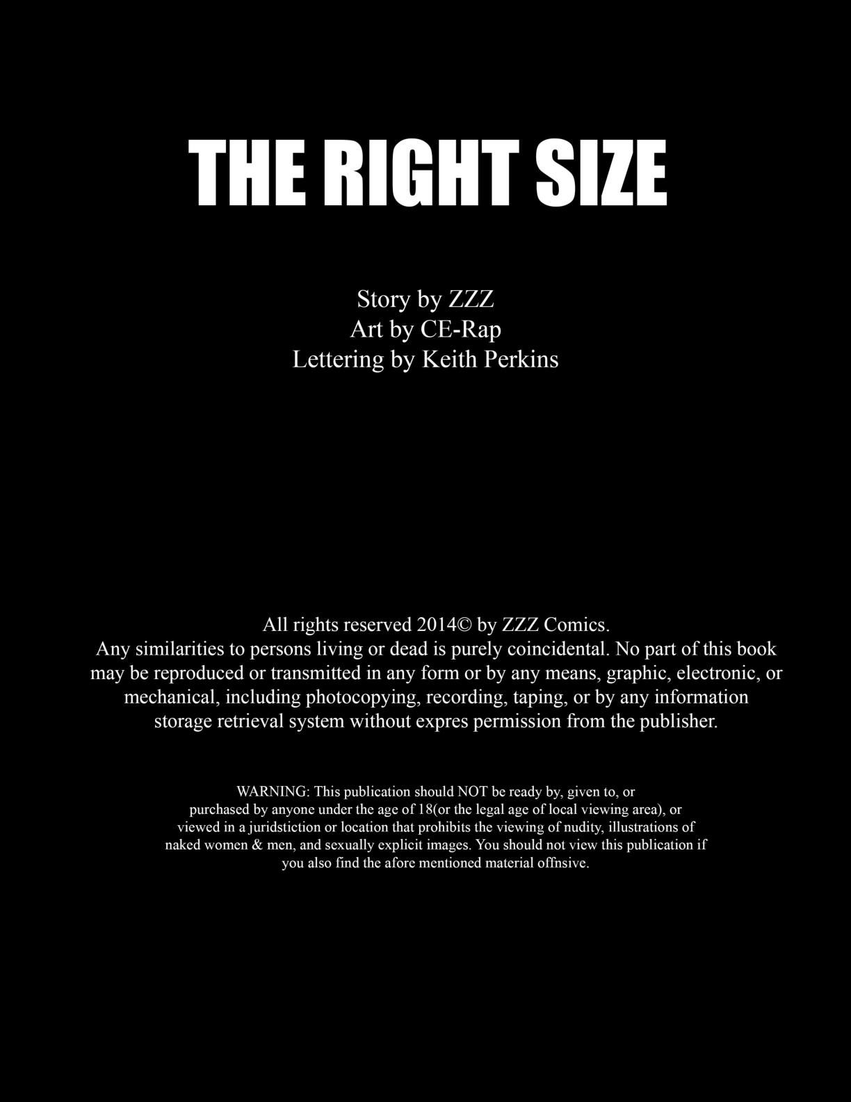 ZZZ- The Right Size