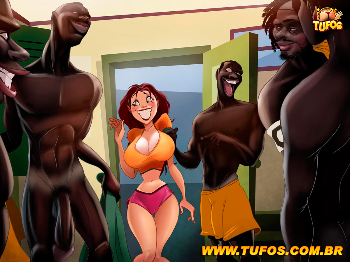 """Tufos- """"Maria Chuteira"""" no treino dos africanos!"""