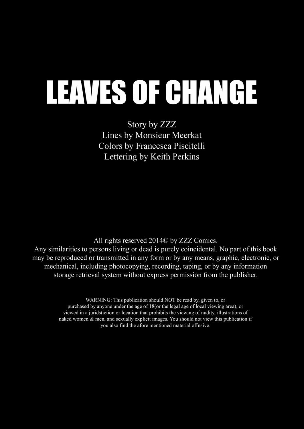 ZZZ- Leaves Of Change
