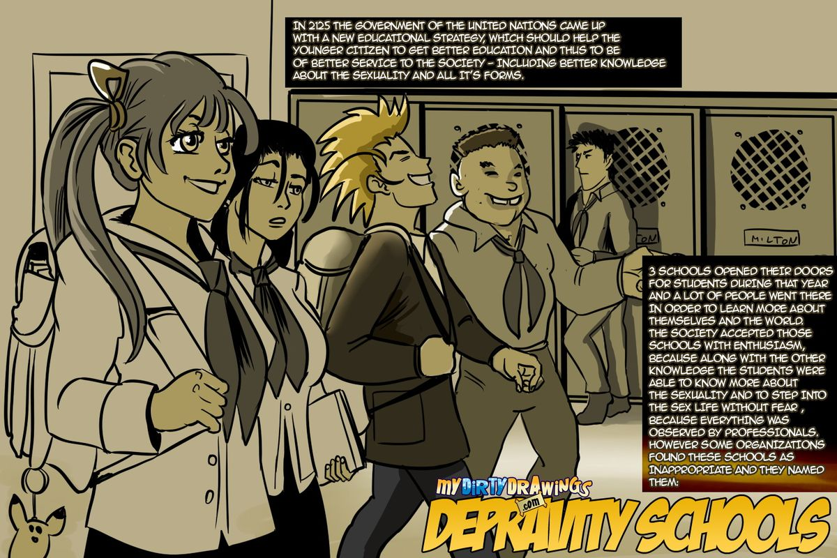Depravity Schools- Dirty Drawings