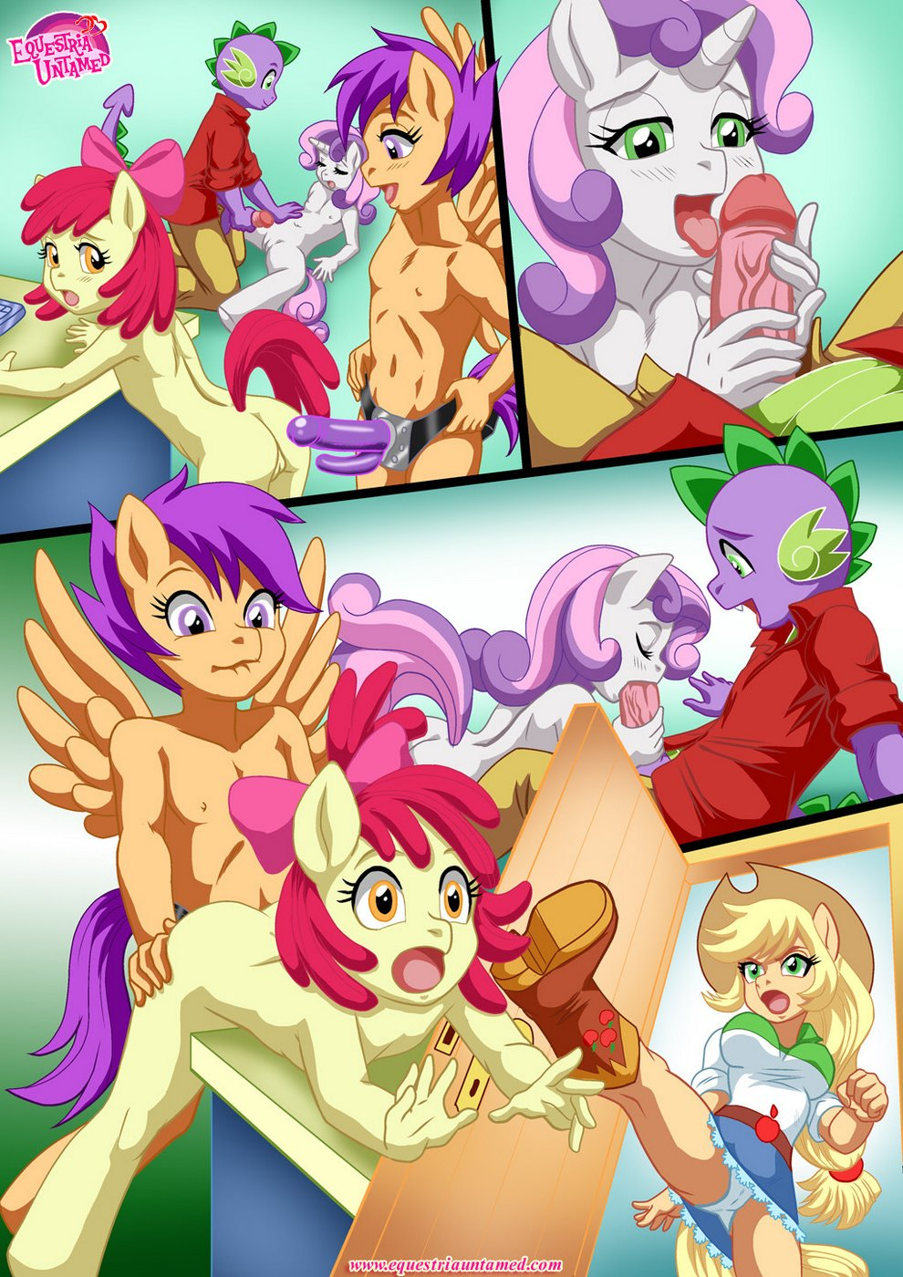 Also Rarity (My Little Pony)- Pal Comix