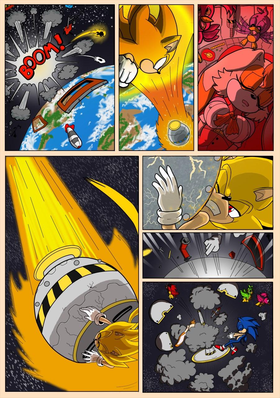 Milf Salvage (Sonic the Hedgehog)
