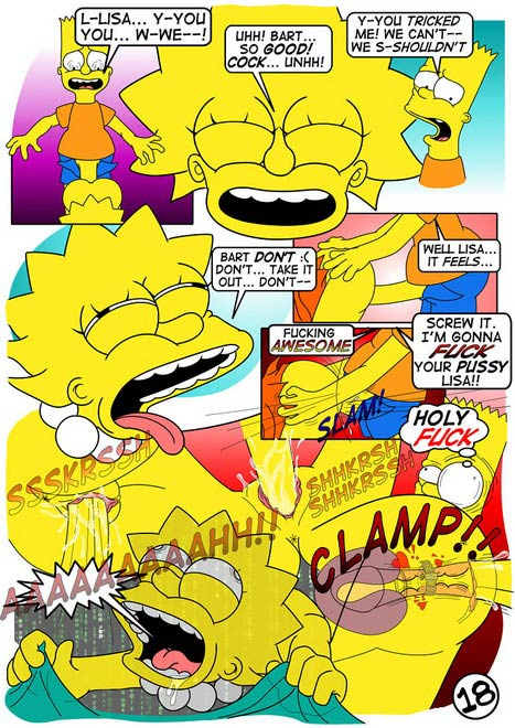 Simpsons- Lisa\'s Lust - part 2