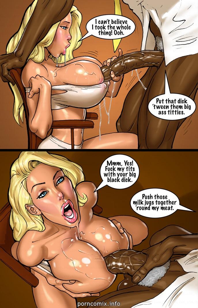 2 Hot Blonde Hunt For Big Black Cocks - part 7