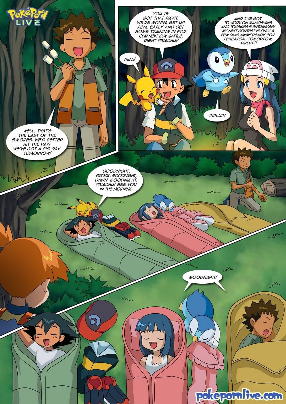 Wet Dreams (Pokemon)- Palcomix
