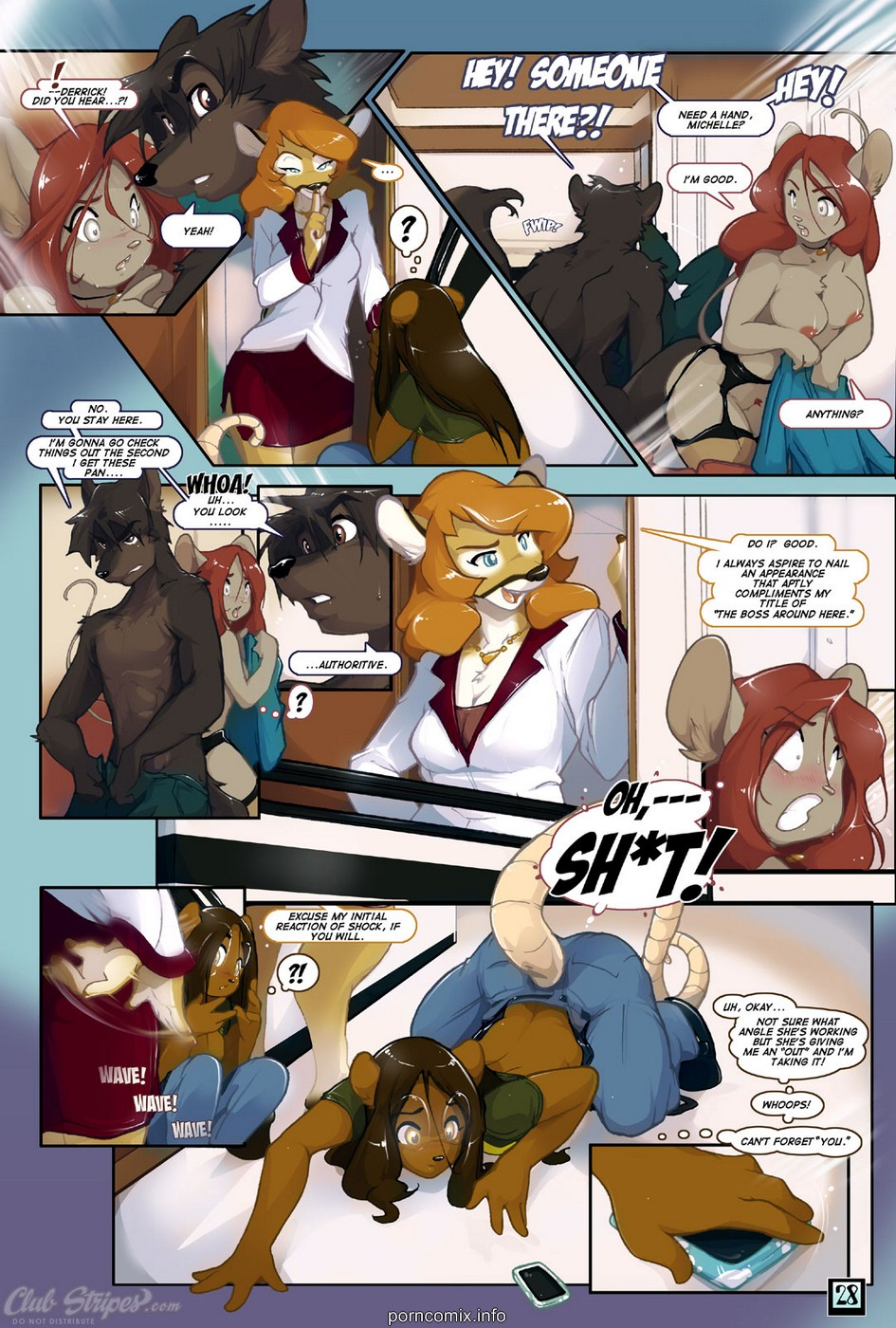 Club Stripes Furry-Good Call - part 2
