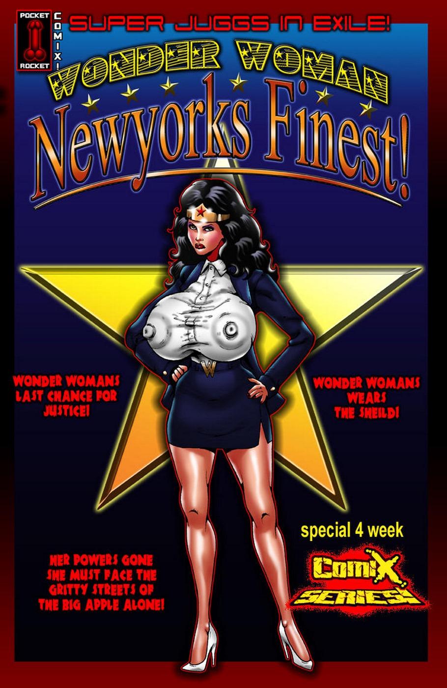 Wonder Woman Super Juggs In Exile