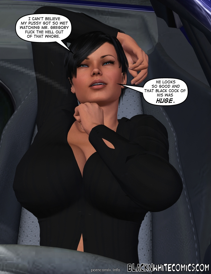3D Busty Detective- BNW - part 2