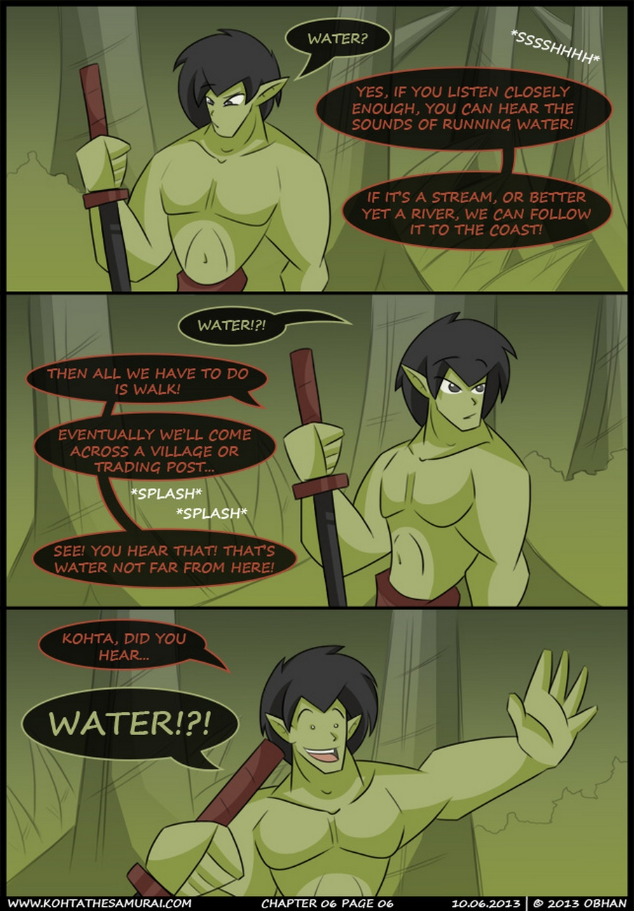 Kohta The Samurai 6