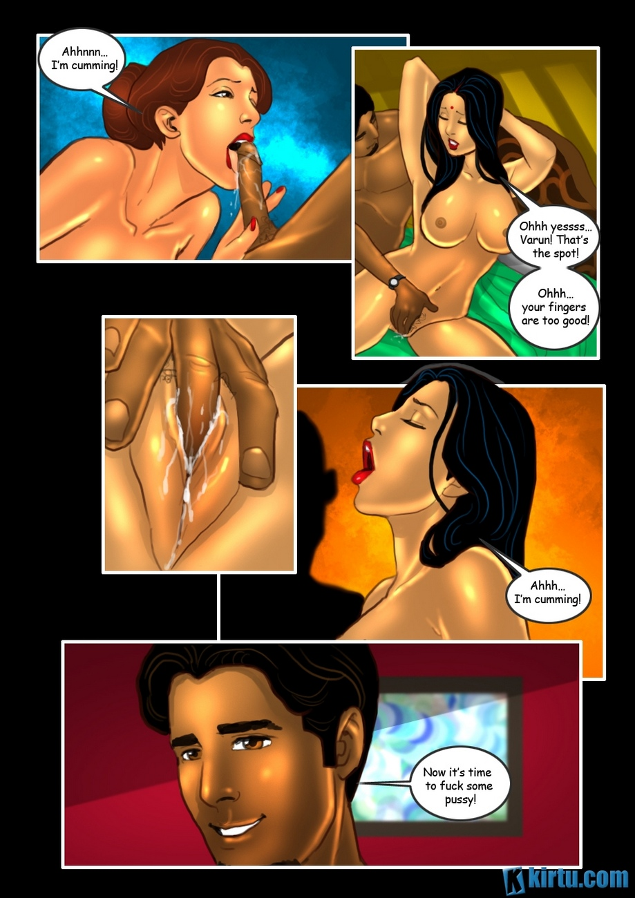 Savita Bhabhi 24 - The Mystery Of Two - part 3