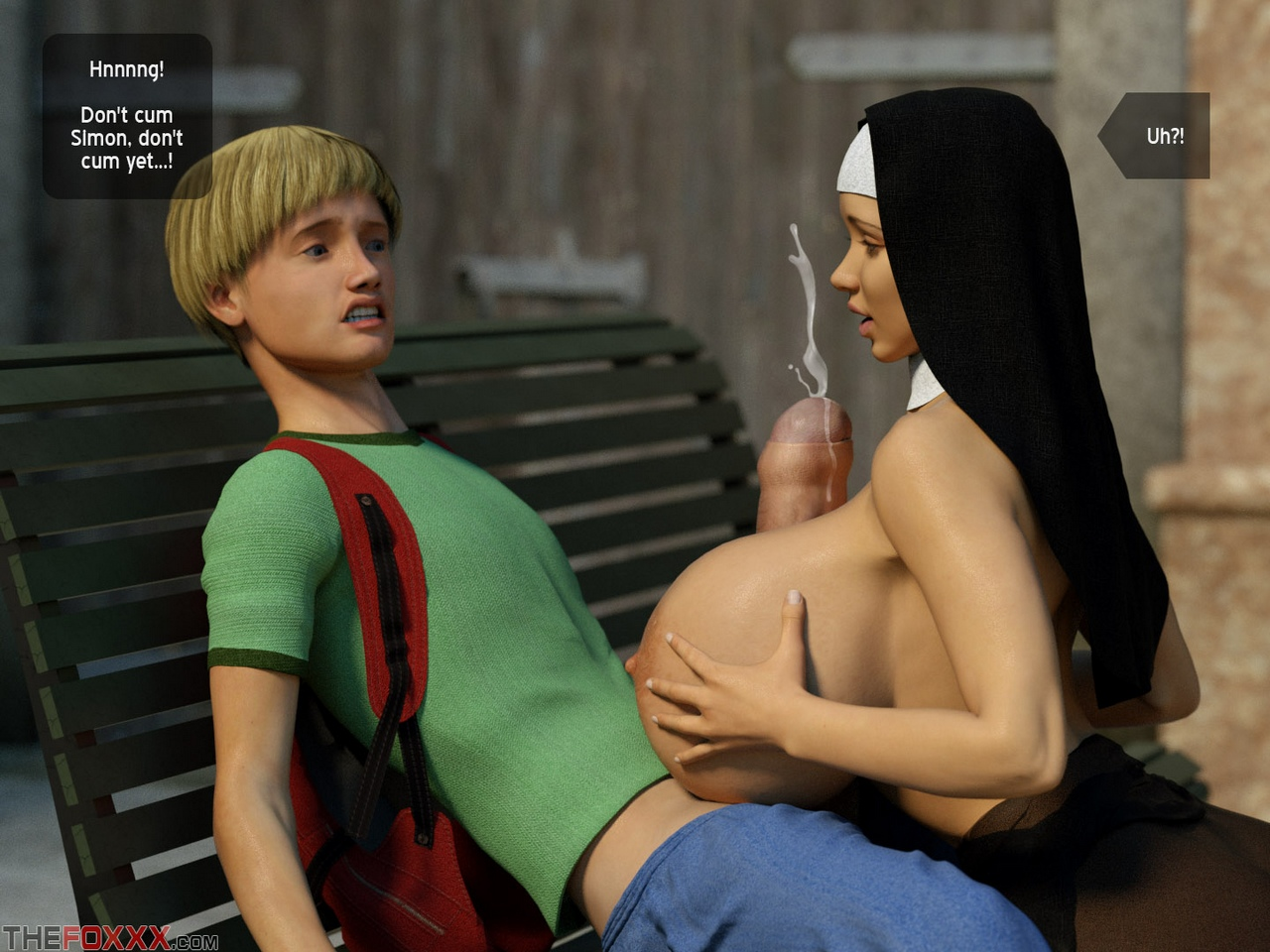 Lily\'s First Day As A Nun - part 2