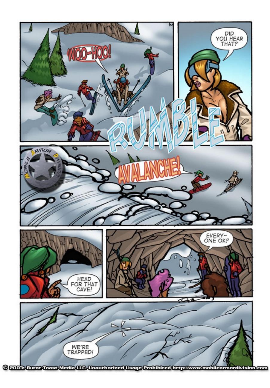 Mobile Armor Division 3 - Snow Bunnies - part 3