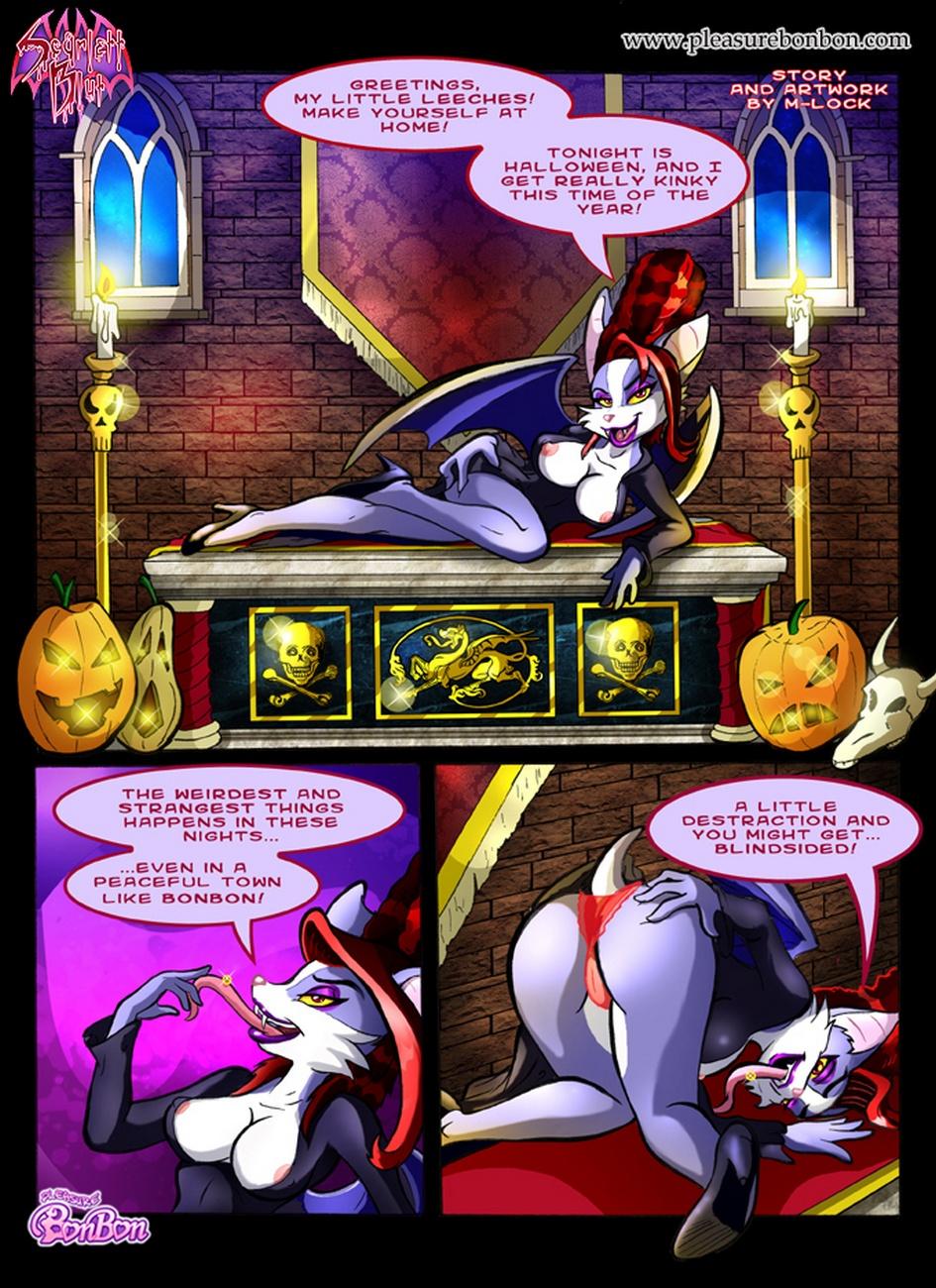Scarlett Halloween Tales