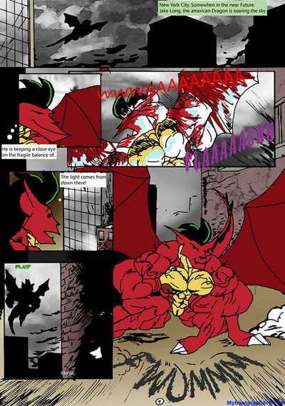 American Dragon Enslaved By Nega