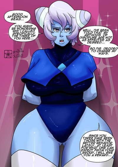 Mr. Estella Holly Blue Agate Steven Universe
