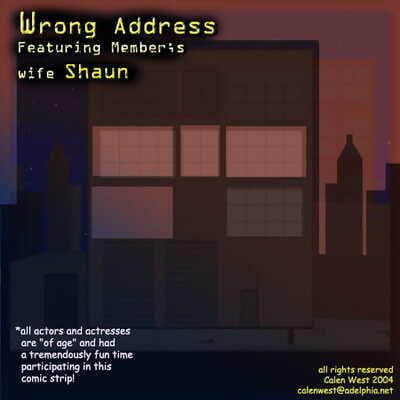 Calen West – Wrong Address