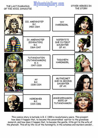 Harem Of Pharaoh - part 4