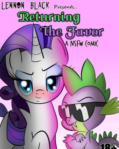 Returning the Favor - Spike x Rarity comic by Lennon Black