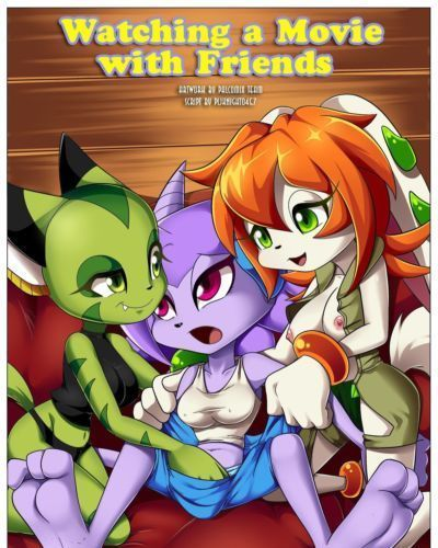 [Palcomix] Watching A Movie With Friends (Freedom Planet) [Ongoing]