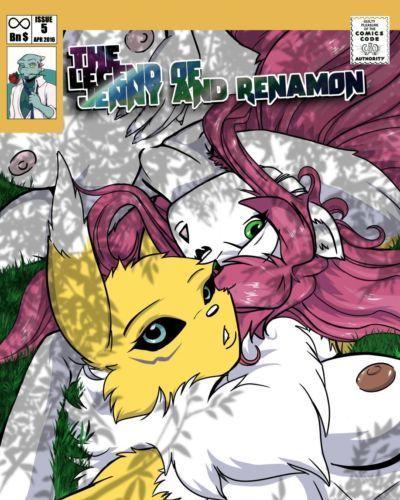 [Yawg] The Legend of Jenny And Renamon 5 (progress)