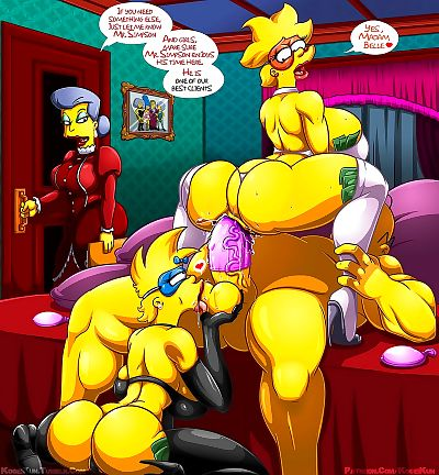 Kogeikun Simpsons and Others art