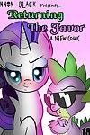 Returning the Favor - Spike x Rarity comic by Lennon Black